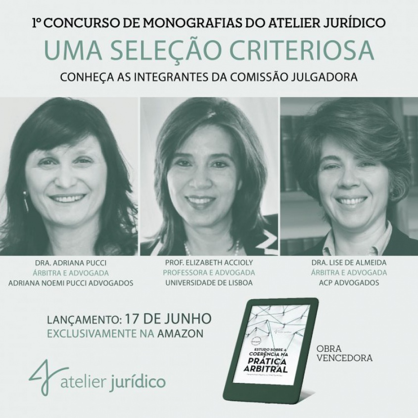 "Adriana Noemi Pucci attended the book launch of the winning work of the 1st Monograph Contest of ""Atelier Jurídico"""
